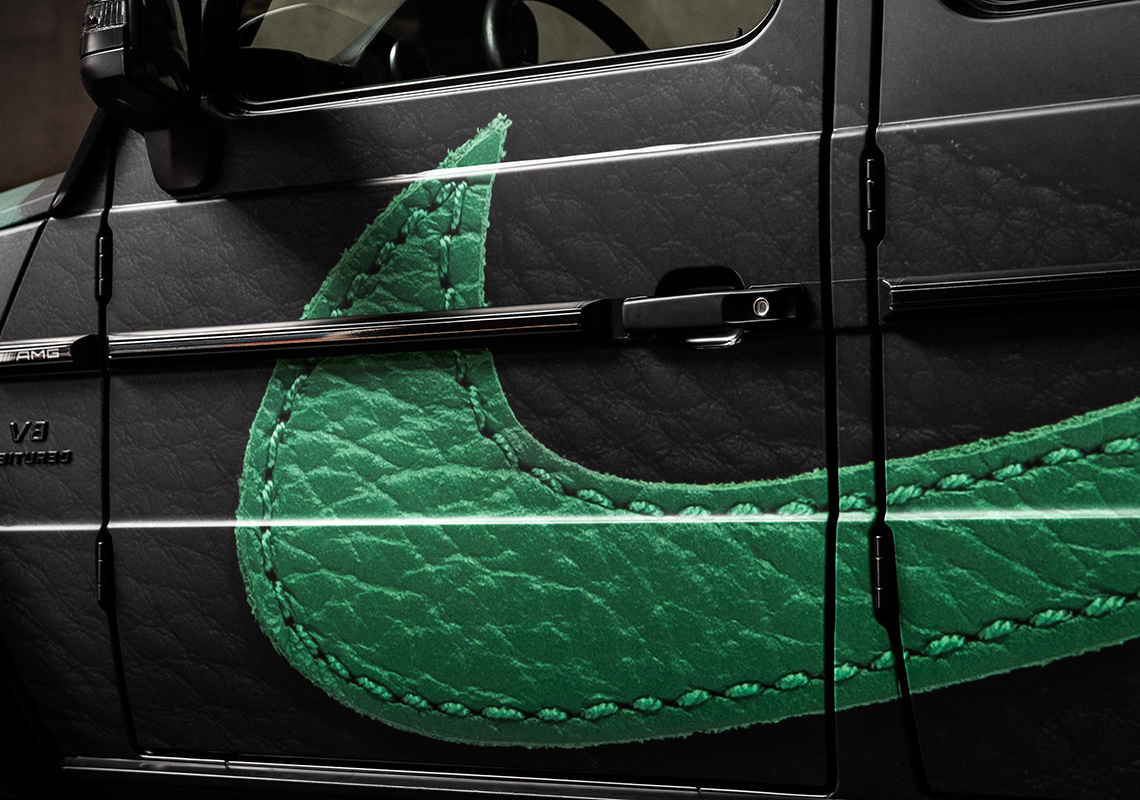 Air Jordan 1 Pine Green Mercedes G Wagon