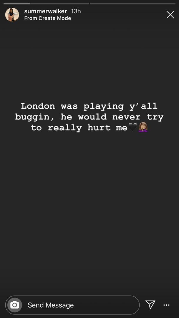 Summer Walker London On Da Track choking video response