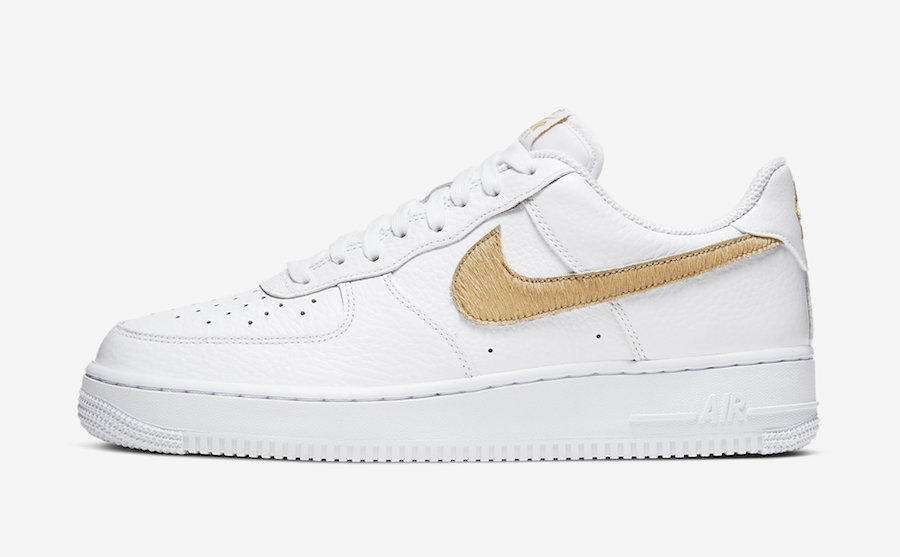 Nike Air Force 1 Low Hairy Swoosh CW7567-101 Release Date