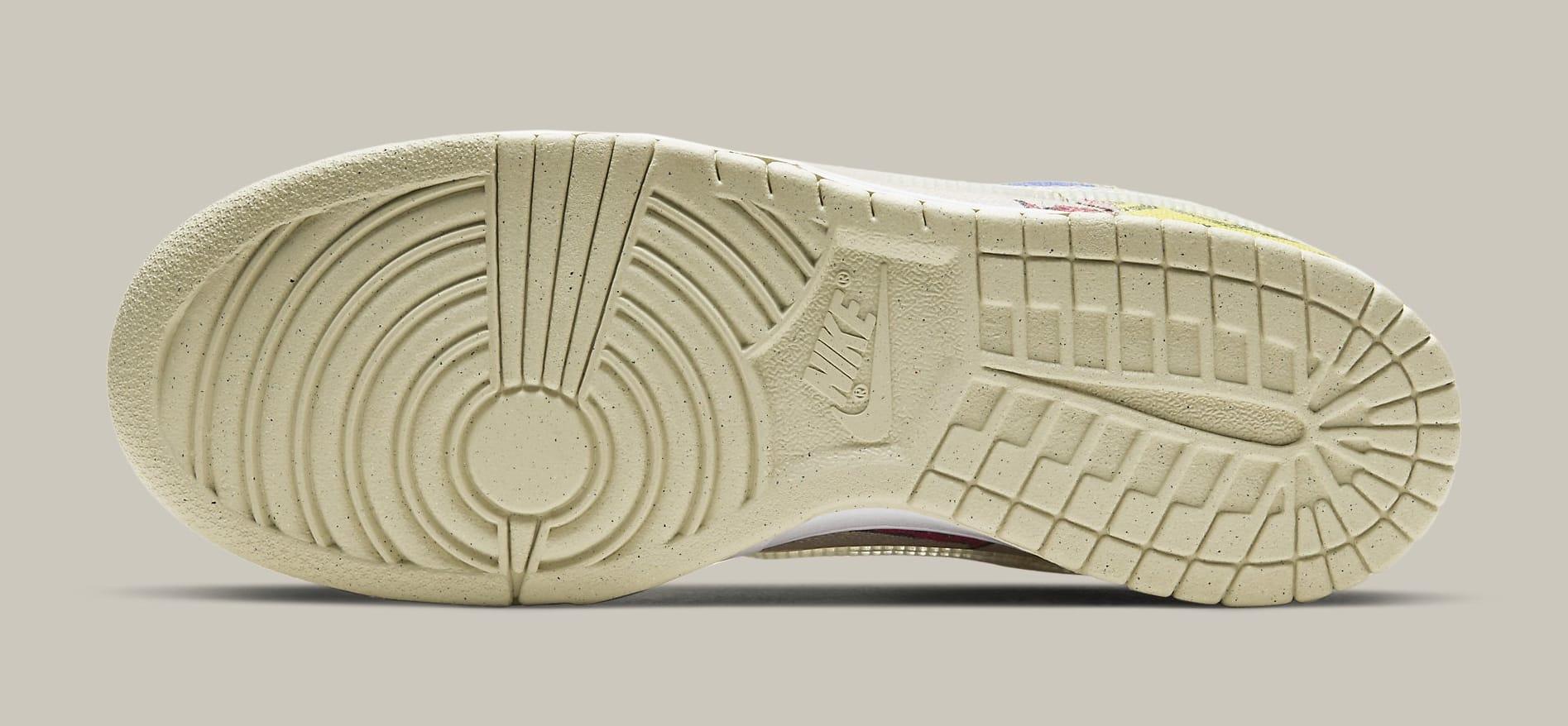 Nike Dunk Low 'City Market' DA6125-900 Outsole