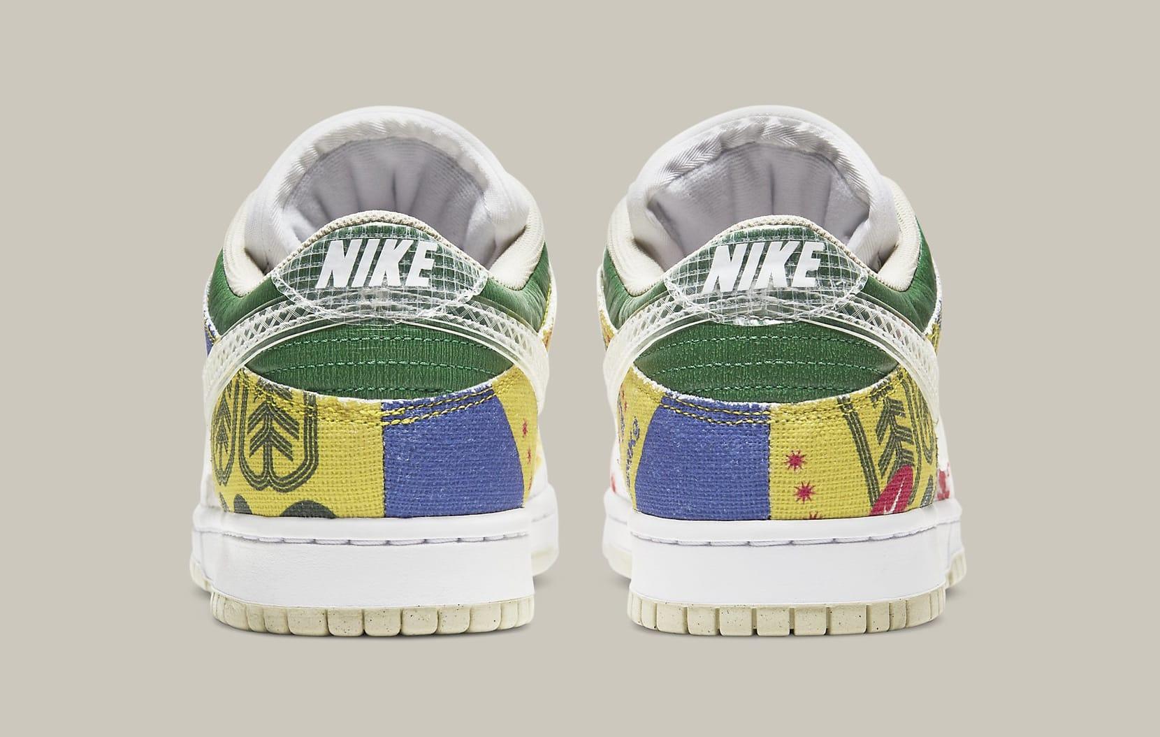 Nike Dunk Low 'City Market' DA6125-900 Heel